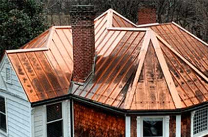Copper roofing Installation & Replacement in St. Davids, Pennsylvania