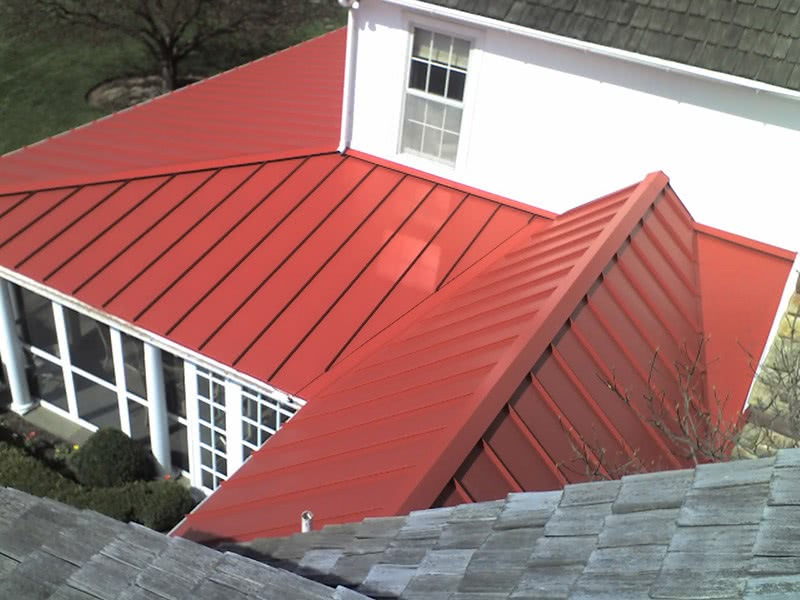 Metal roof style