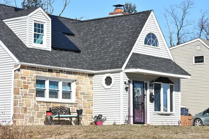 asphalt roof style