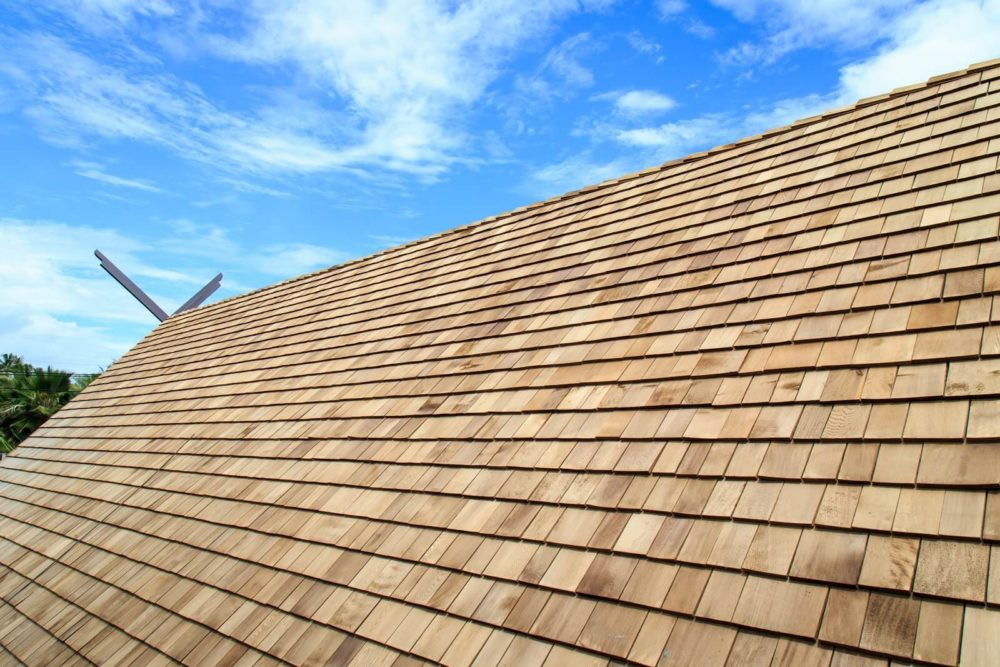 Wood Shingles for Enduring Hurricanes