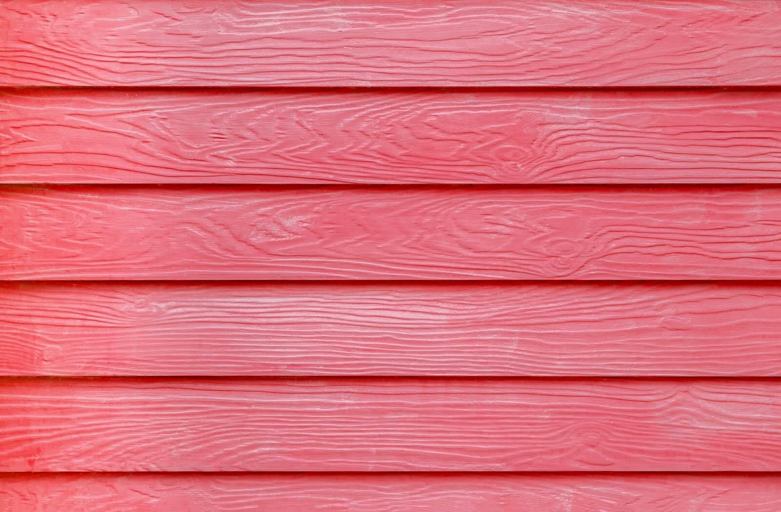 red siding