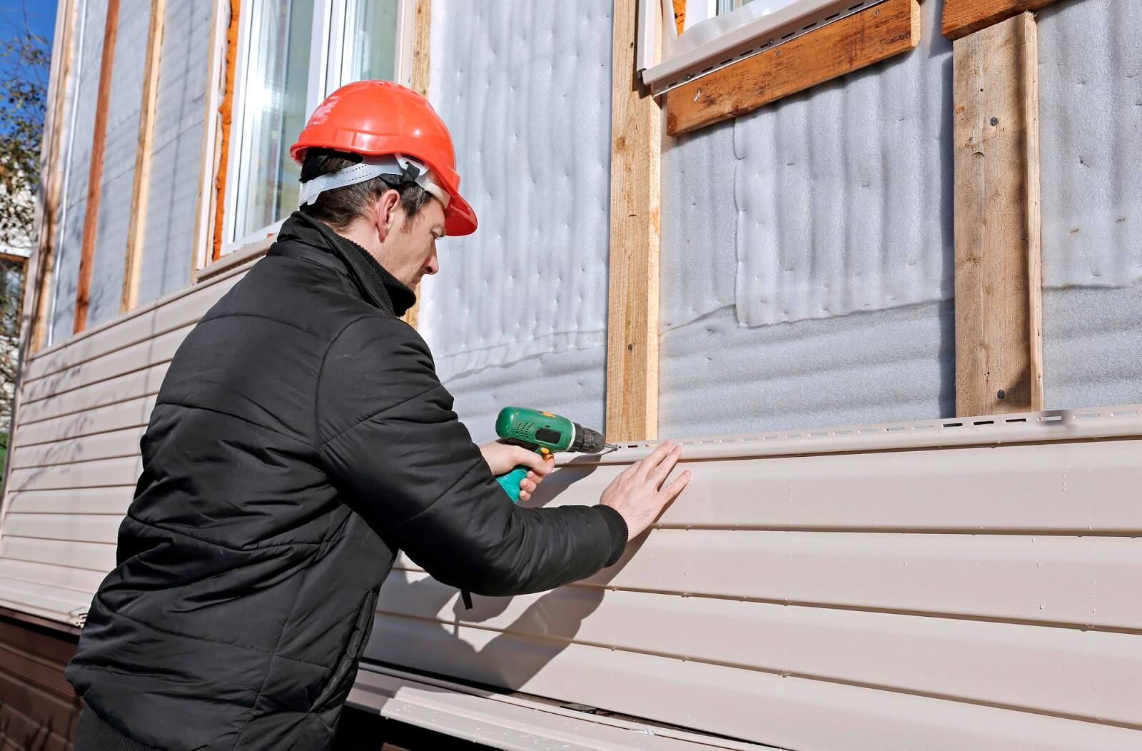 vinyl siding home improvement