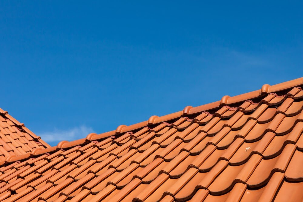 Roof tiles are uncommon in the northeastern United States